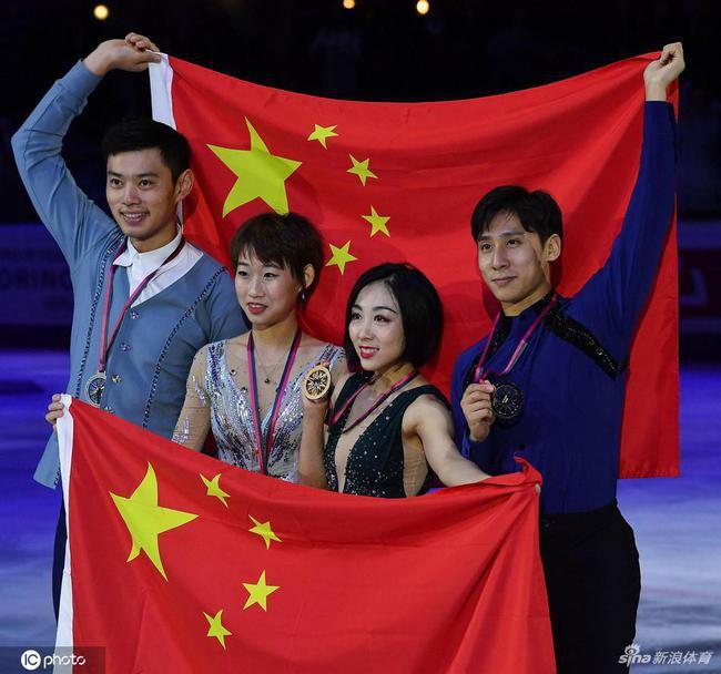 中国组合包揽金银牌