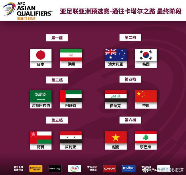 12强赛分组:国足与日澳同组 大年初一战越南