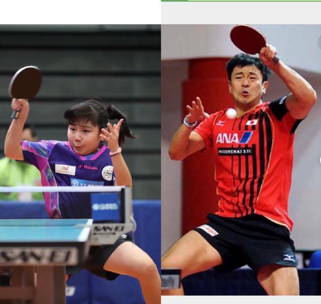 日本乒坛再添12岁张本美和 母亲曾是福原爱的教练