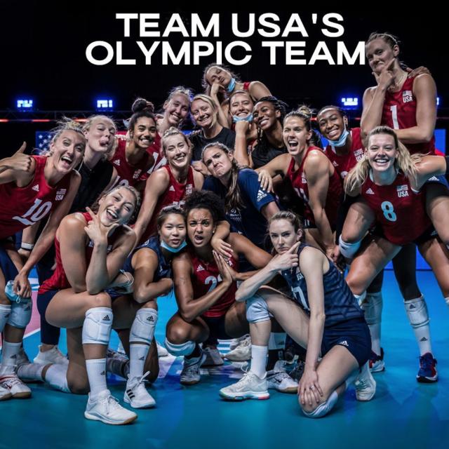 美国女排公布奥运12人名单 拉尔森阿金拉德沃在列