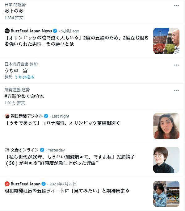 尴尬!奥运会开幕式举行同时 停办奥运上日本热搜