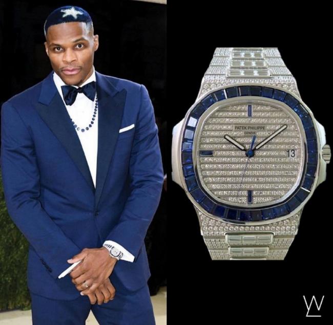 """威少将""""一套房""""戴在手上!手表价值370万元"""
