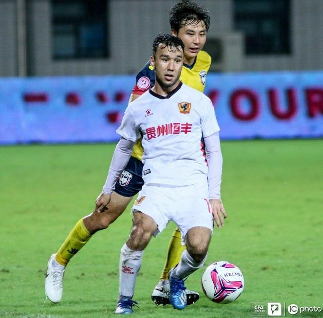 中甲第12轮MVP:埃沃洛刘若钒伊力哈木江当选
