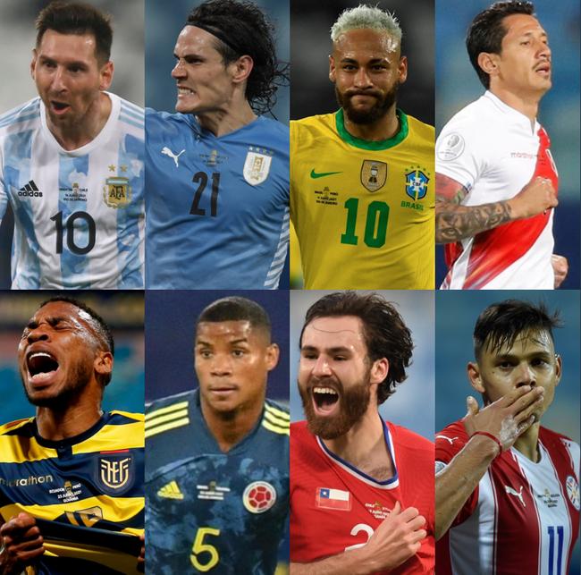 美洲杯八强对阵:巴西遭遇智利 阿根廷战厄瓜多尔
