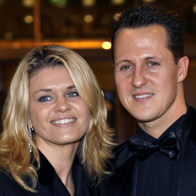 舒马赫与妻子科琳娜(原料图)