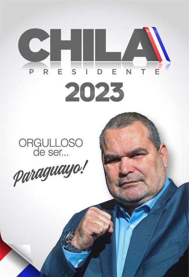 奇拉维特宣布将竞选巴拉圭总统
