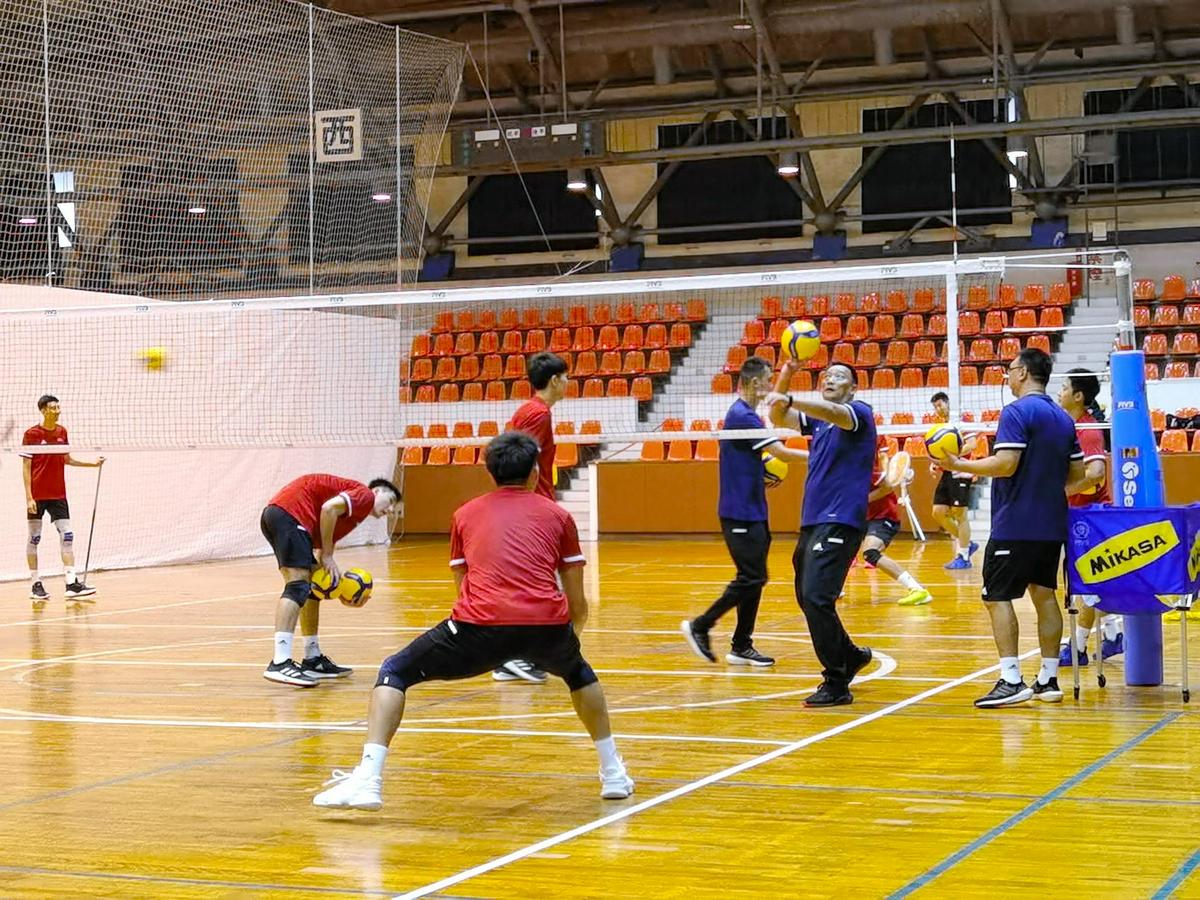 亚洲男排锦标赛在即 中国队全力以赴争世锦赛资格