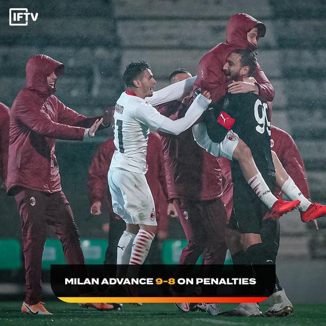 AC马德里变成这次奇妙点球大赛的大赢家