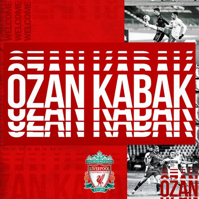 利物浦官方宣告签下土耳其中卫 租借加盟带买断