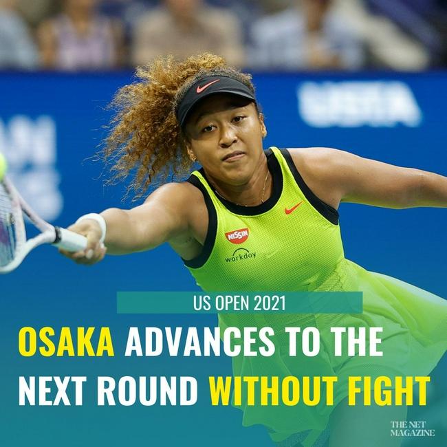 大坂直美收对手退赛大礼 不战而胜晋级女单第三轮
