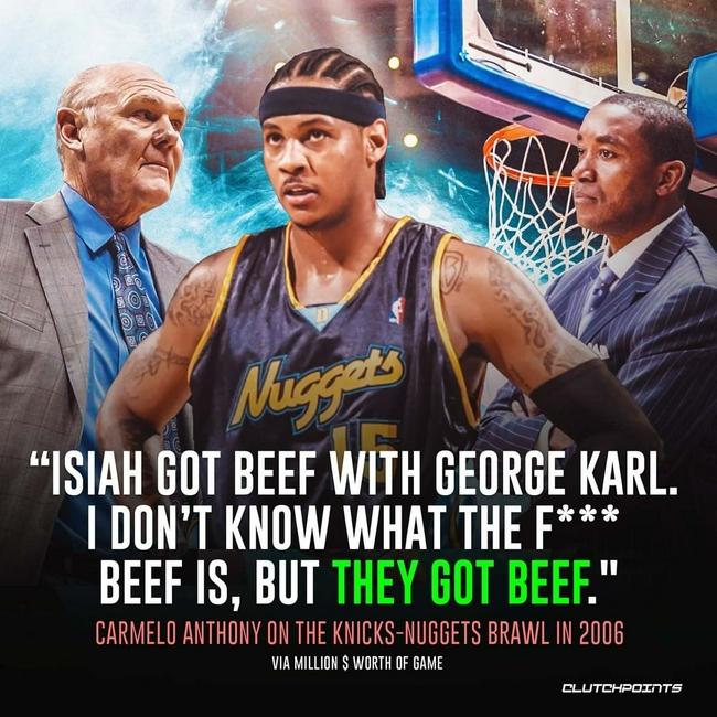这场NBA15年前的著名斗殴,根源竟在双方主帅?