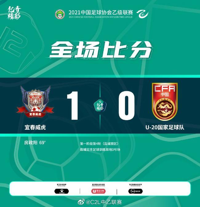 房政阳头槌制胜 宜春威虎1-0中国U20保持不败