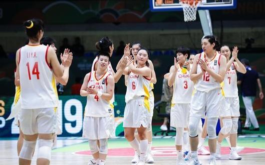 2019年女篮亚洲杯:中国女篮80比52大胜韩国女篮晋级决赛