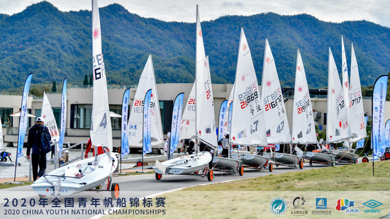 2020年全国青年帆船锦标赛 浙江小将家门口获八金