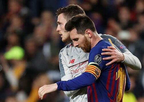 利物浦大将:梅西可别来英超 和他踢球太折磨