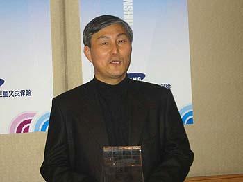 2003年三星杯夺冠的曹薰铉