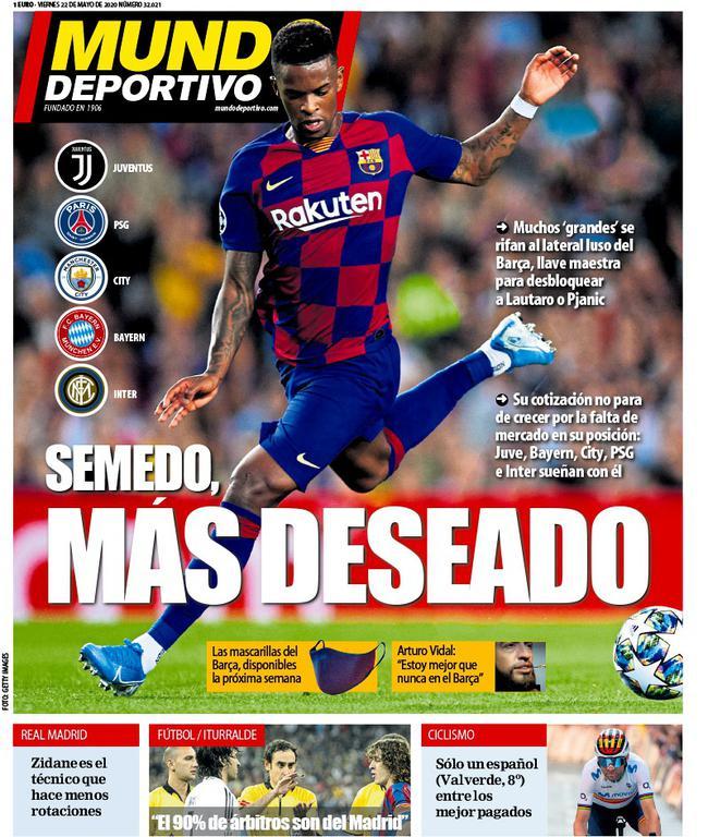 《世界体育报》封面