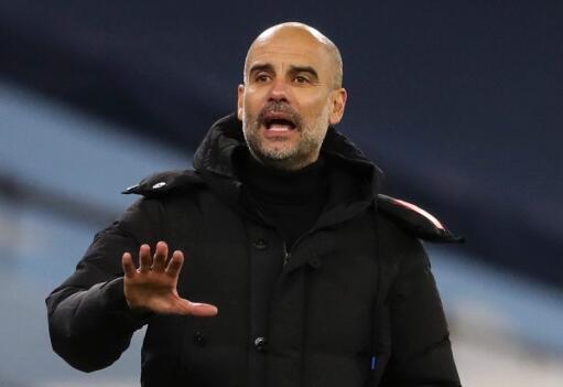 曼城主教练瓜迪奥拉承认,球队里有至少五名球