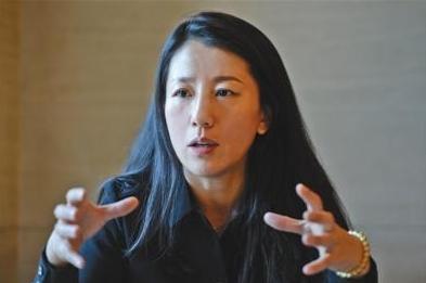 2017年11月,杨扬批准新京报记者采访。 新京报记者 吴江 摄