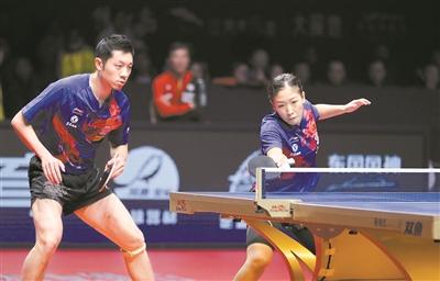 目前,国际乒联建议暂不进行双打训练。广州日报全媒体记者 杨敏 摄