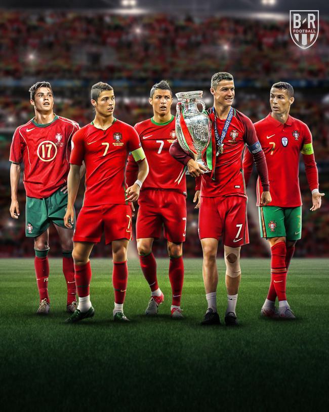 第5次在欧洲杯出场!C罗成欧洲杯历史第一人