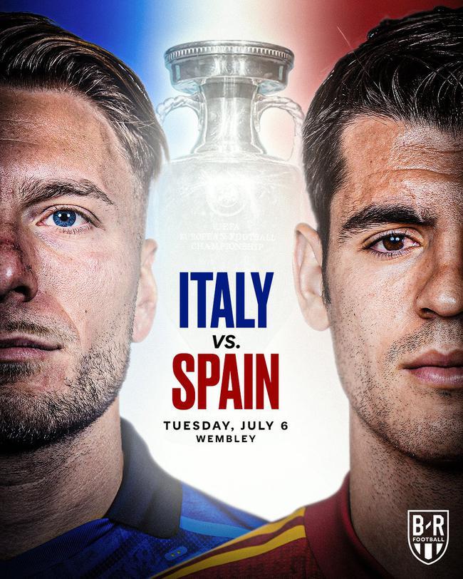 西班牙意大利连续4届欧洲杯对决  此前西班牙占优