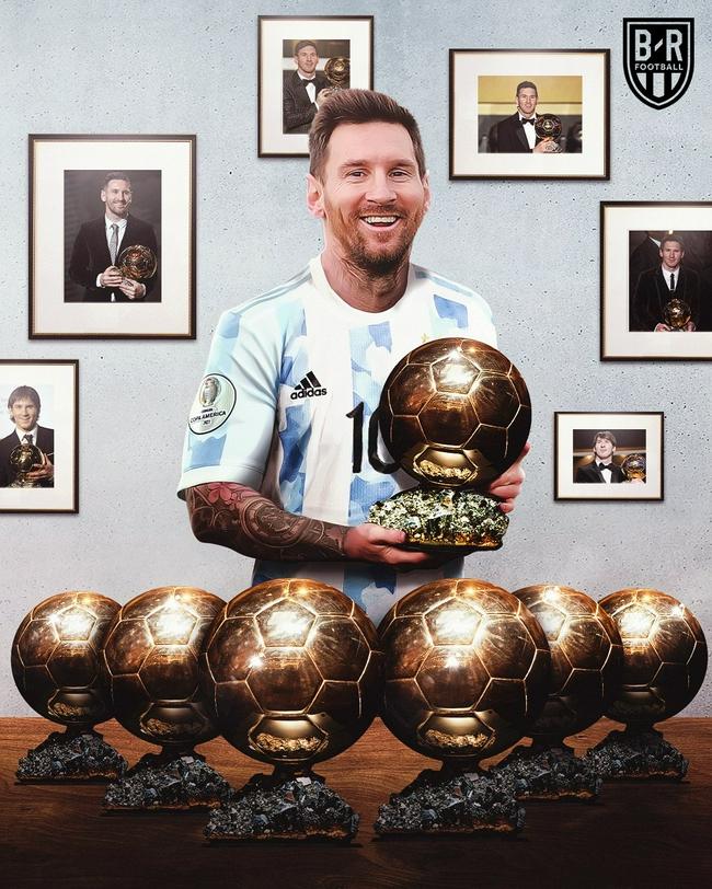 第7个金球奖要来了?梅西已成金球奖最大得奖热门