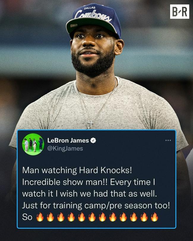 硬汉训练营!詹姆斯希望NBA也推真人秀纪录片