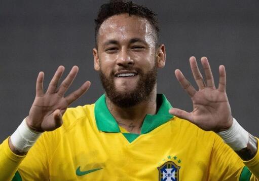 内马尔因伤离开巴西队 巴黎主帅:球员在被杀死