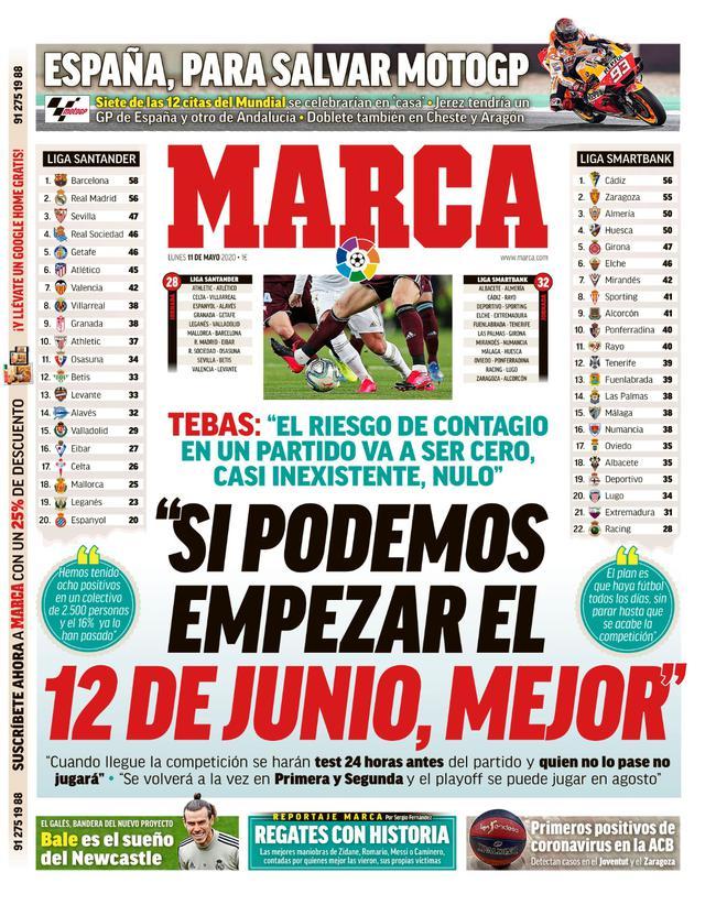 《马卡报》封面