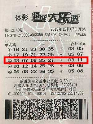 女彩民攬大樂透33萬時隔1月兌 獎金給工人發工資