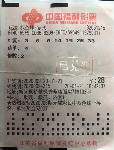 老彩民攬雙色球15.8萬 非常激動開市后火速兌