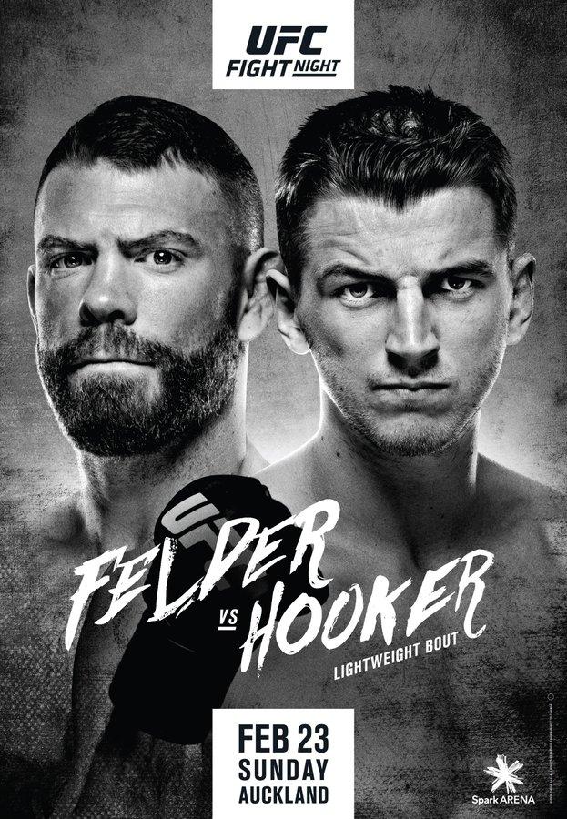 UFC搏斗之夜168:菲尔德 VS 霍克尔