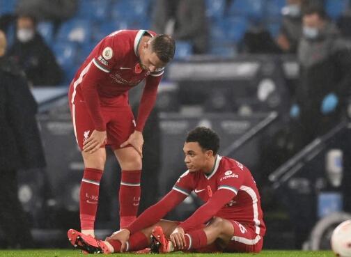 英超各队伤病榜:利物浦曼联最惨 伤兵已超百人!