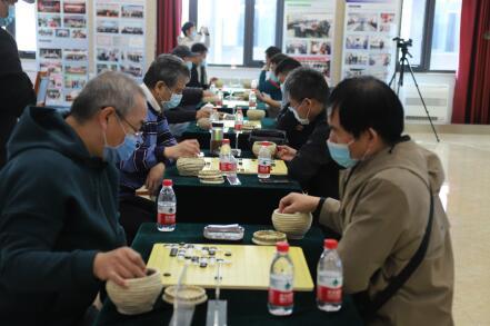 北京市水务局首届文化体育节围棋比赛其笑融融。