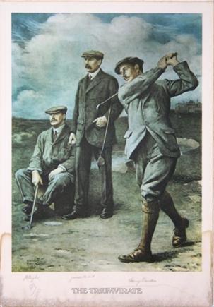 馆藏绘画《伟大的三巨头》