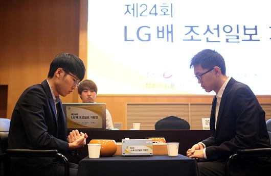LG杯柯洁胜陈耀烨晋级四强 半决赛中韩2对2