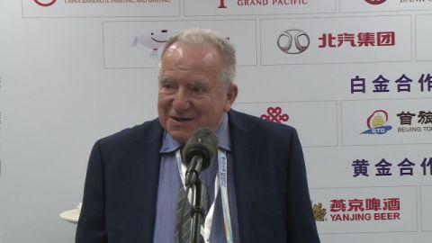 国际滑联第一副主席高度肯定北京冬奥测试赛