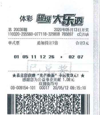 """""""0元""""投注竟收獲大樂透2799萬 得主現身稱太激動"""