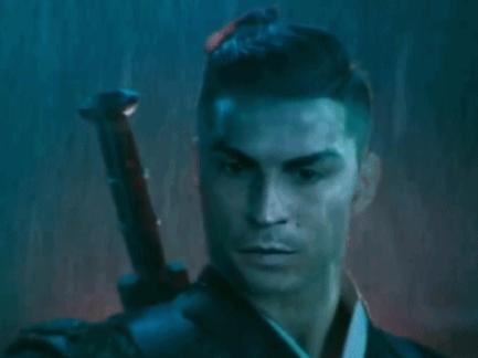 中国风!C罗新代表化成剑客 飞檐走壁靠气场杀人