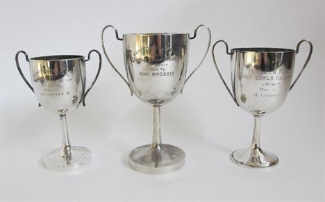 1910年前后汉口高尔夫俱乐部奖杯