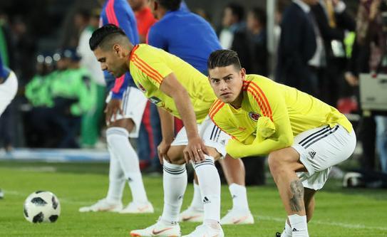 哥伦比亚美洲杯23人名单:J罗领衔 中超旧将入选