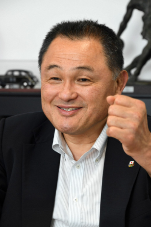日本奥委会会长山下泰裕