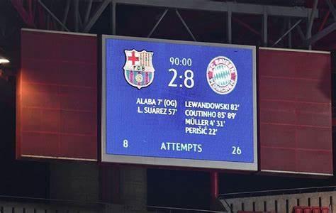 2比8惨败后再遇拜仁  13个月来巴萨究竟有何变化?