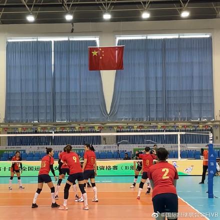 全运女排资格赛上海3-0云南 夺第三胜晋级决赛圈