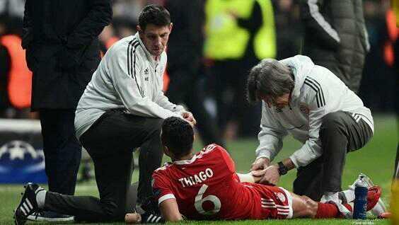 拜仁官宣名将伤情:脚筋受伤 缺席数日训练后复出