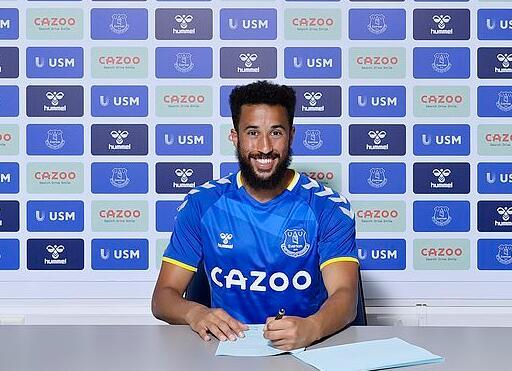 埃弗顿官宣签下英格兰边锋 贝尼特斯与旧将再联手