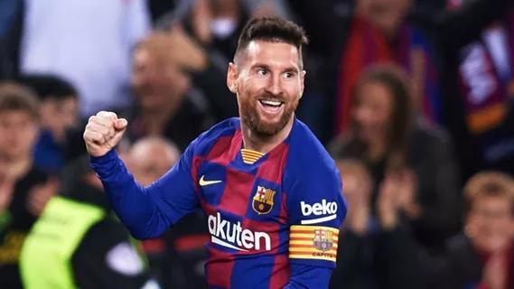 曼城名将:梅西有特殊天赋 他就是史上最强球员