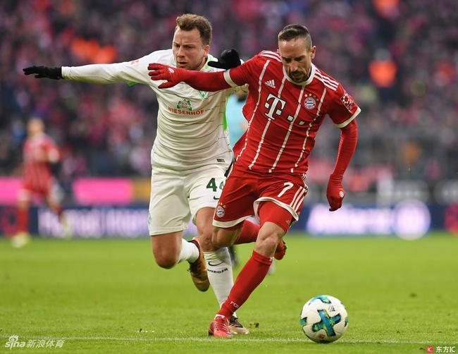 德媒:里贝里欲同拜仁续约1年 拜仁还要看他表现