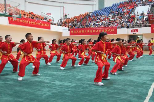 陕西首次举行青少年武术散打联赛